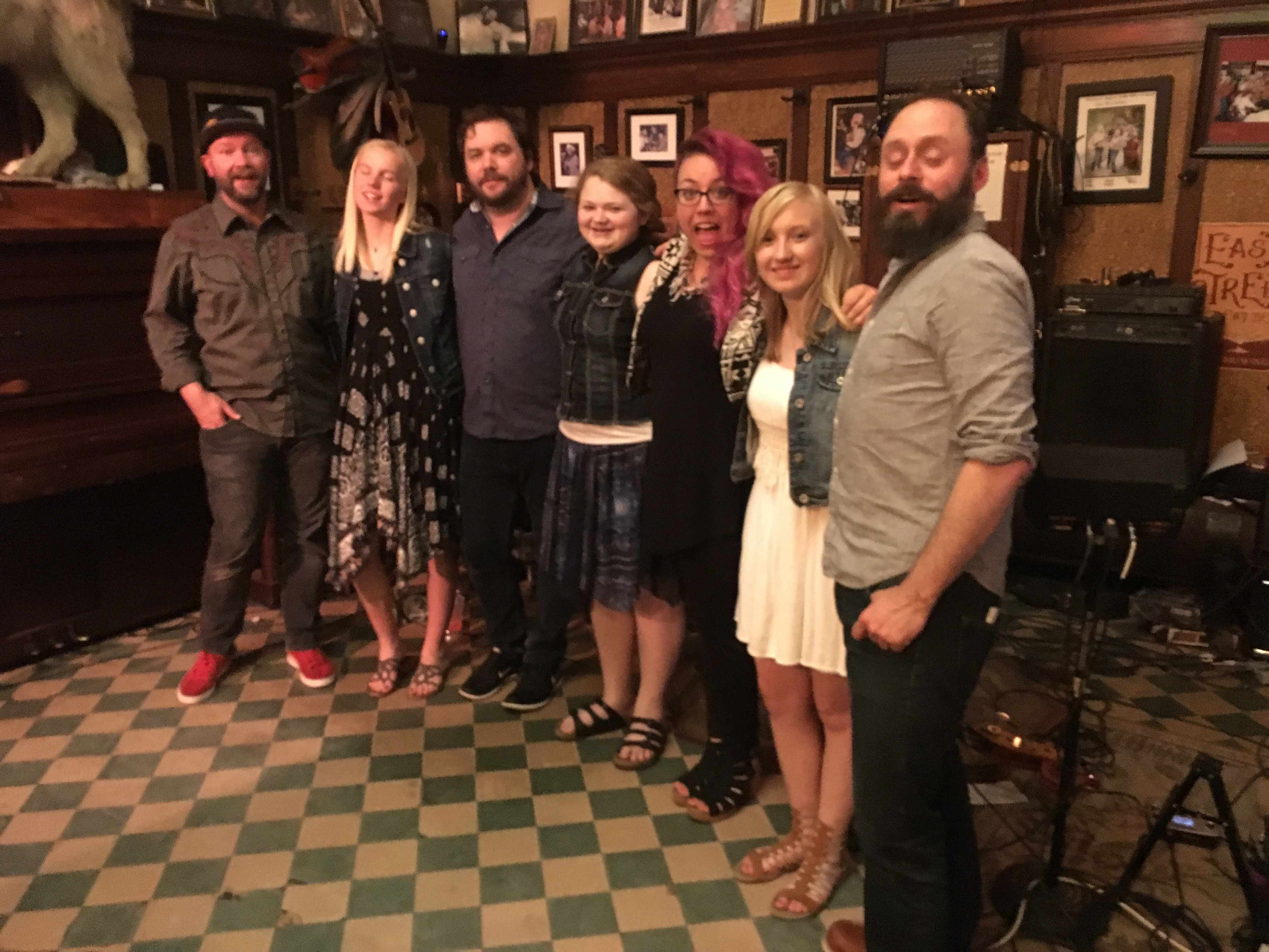 Front Country visits the Occidental Saloon